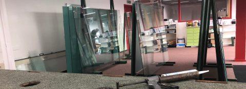 Spiegel montage horeca interieur: Bij de Wester